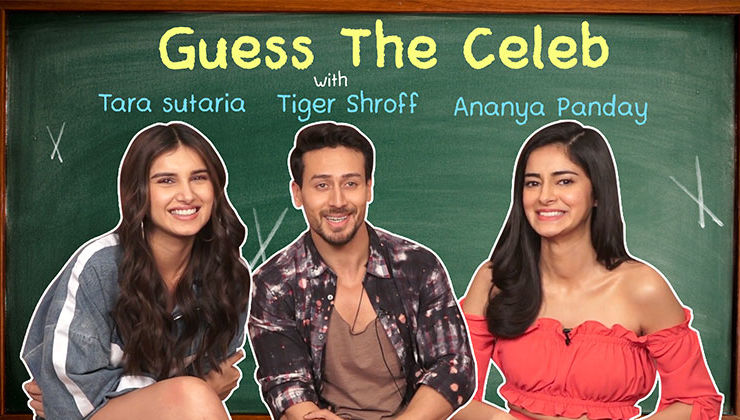 'Guess The Celeb': Ananya Panday's CRAZY acting skills tested by Tiger Shroff and Tara Sutaria