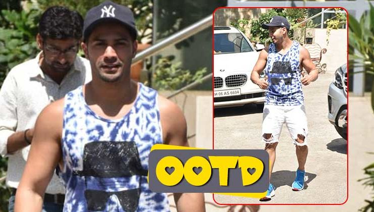 Varun Dhawan gives you summer fashion goals in THIS street style ensemble