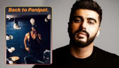 Arjun Kapoor resumes shooting for 'Panipat' and shares an intense pic