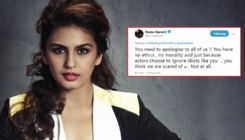 Huma Qureshi seeks apology from an entertainment portal for linking her to Sohail Khan