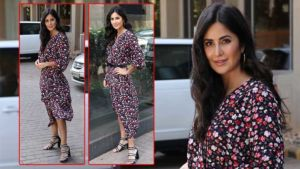 PICS: Katrina Kaif gives summer fashion goals with her floral dress