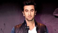 Ranbir Kapoor has a cute little guest on his film's set; guess who?