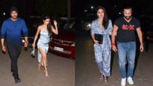 Lovebirds Arjun Kapoor-Malaika Arora and Saif Ali Khan-Kareena Kapoor party the night away
