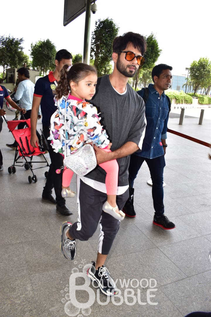Shahid with his daughter Misha