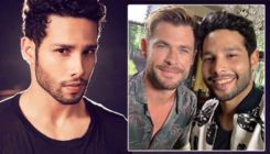 'Gully Boy's 'MC Sher' Siddhant Chaturvedi meets 'Thor' Chris Hemsworth at 'MIB International' premiere