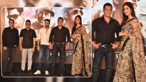 'Bharat': Katrina Kaif and Salman Khan grace the song launch of 'Zinda' - view pics