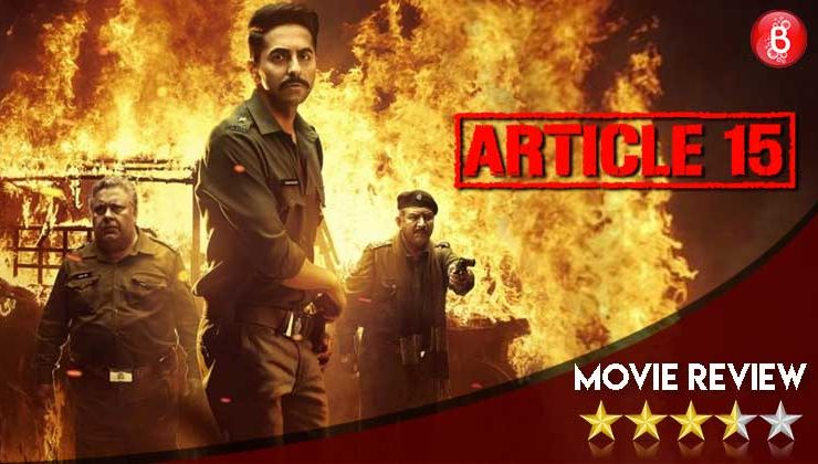 'Article 15' Movie Review: A gripping crime drama that exposes the ugly face of caste system