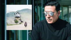 'Sooryavanshi': Akshay Kumar is back to doing daredevil action stunts; view pic