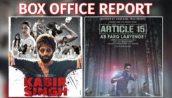 Box-Office Report: 'Article 15' gains momentum, 'Kabir Singh' crosses 150 crores mark