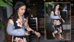 Bhumi Pednekar injures her right hand; actress spotted with a sling - view pics