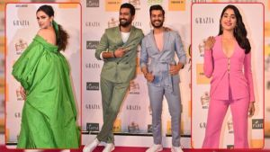 Grazia Millennial Awards 2019: Deepika Padukone, Vicky Kaushal and Janhvi Kapoor dazzle on the red carpet