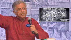 Multifaceted Girish Karnad paid a heartfelt tribute by Amul