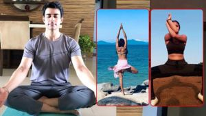 International Yoga Day: From Kavita Kaushik to Gautam Rode, TV celebs show their love for fitness
