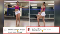 Janhvi Kapoor lambasted for belly dancing video; troll calls her,