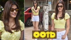 In Pic: Kriti Sanon looks like a beautiful ray of sunshine in this yellow outfit