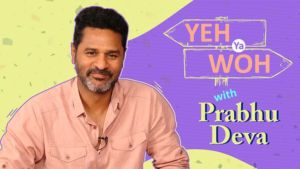 Prabhu Deva plays the hilarious game of 'Yeh Ya Woh'