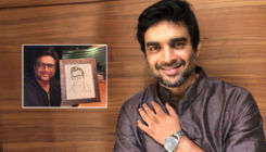 Birthday boy R Madhavan receives a 'prolific' gift from the co-director of 'Rocketry'- view pic