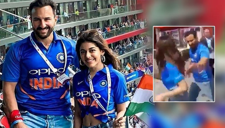 Saif Ali Khan slammed by Pakistani fan during World Cup match - watch viral video!
