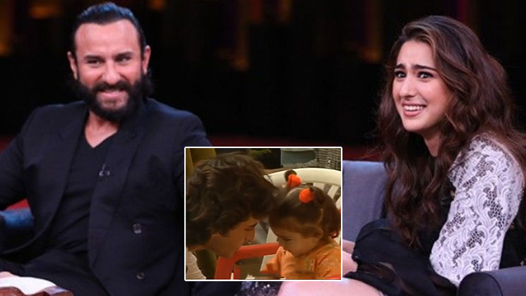 Sara bonding with dad Saif in this throwback video will make you go awww | Bollywood Bubble