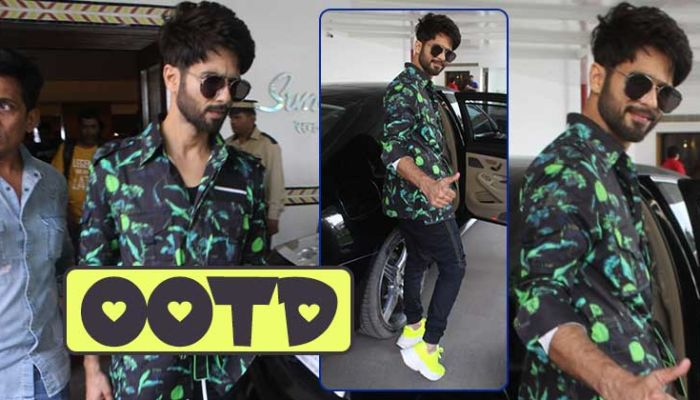 In Pics: Shahid Kapoor nails the 'Street Style' fashionfor 'Kabir Singh' promotions