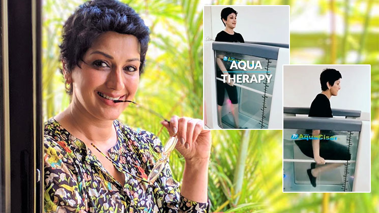 Sonali Bendre's aqua therapy video goes viral on social media | Bollywood Bubble