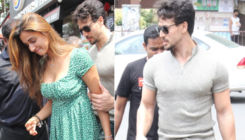 Tiger Shroff protects GF Disha Patani from the crowd post their lunch date - view pics
