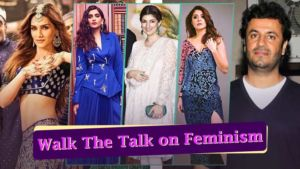 Bollywood actresses seasonal feminists