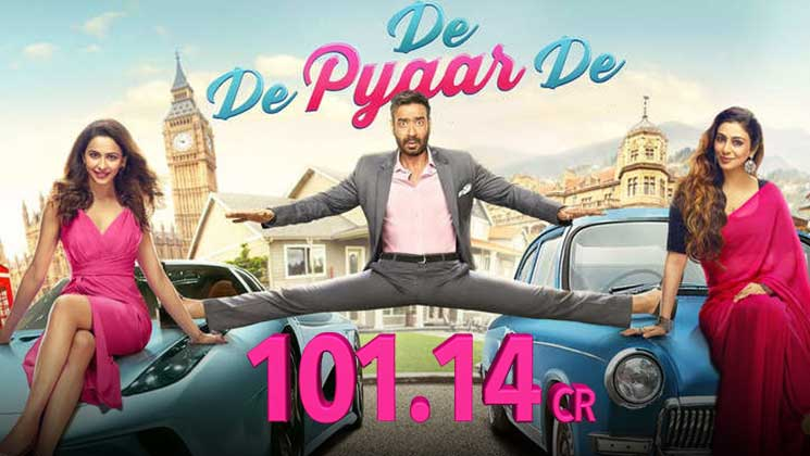 De De Pyaar De 100 Crore: Ajay Devgn, Rakul Preet Singh film enters club | Bollywood Bubble