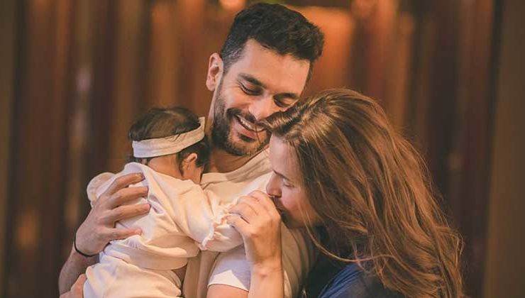 Neha Dhupia shares adorable pics of daughter Mehr as she turns seven months old
