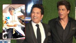 Sachin Tendulkar schools Shah Rukh Khan on road safety in a filmy way