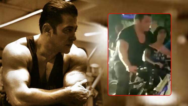 WATCH: Salman Khan steps out for a short cycle ride at 2:30 am | Bollywood Bubble