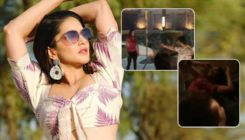 OMG! Sunny Leone gets hit by a bullet - watch video