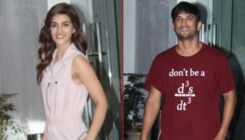 Kriti Sanon gets clicked with ex-BF Sushant Singh Rajput; Are they getting back together?