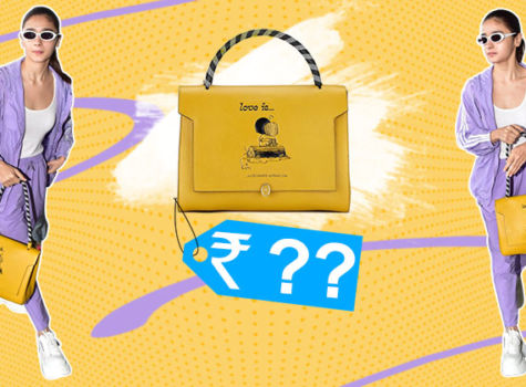 Alia Bhatt's mighty expensive Love Bathurst satchel has a cutesy Ranbir Kapoor connection