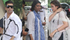 Areef Patel Prayer Meet: Karan Johar, Priya Dutt, Gayatri Joshi arrive to offer their condolences