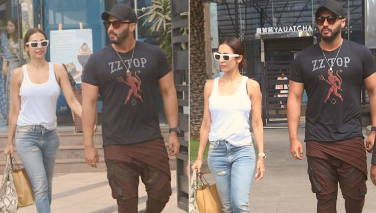 In Pics: Arjun Kapoor takes GF Malaika Arora on a lunch date