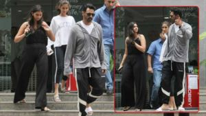 Blessed with a baby boy, Arjun Rampal gets papped at Hinduja Hospital - view pics