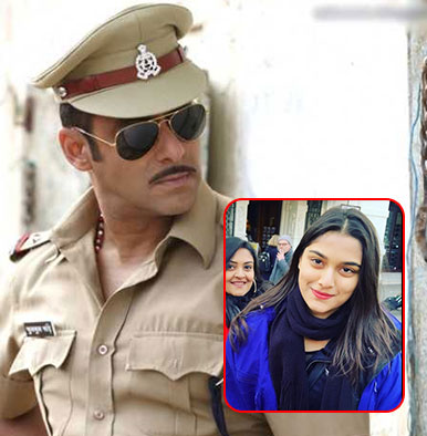 'Dabangg 3': Salman Khan to romance Mahesh Manjrekar's younger daughter Saiee?