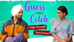 Guess The Celeb: Diljit Dosanjh and Kriti Sanon's funny antics will melt your heart