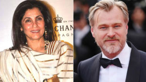 Dimple Kapadia, Christopher Nolan