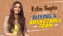 Esha Gupta talks about BUYING a basketball team and being vegetarian
