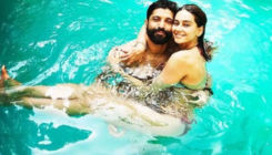 Farhan Akhtar and Shibani Dandekar set the internet on fire with their latest pool picture