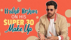 Hrithik Roshan answers a fan question about his 'Super 30' make-up
