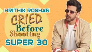 'Super 30': Hrithik Roshan reveals why he CRIED before shooting for the film