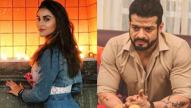 Karan Patel comes to the rescue of Krystle D'souza stranded in heavy Mumbai rains