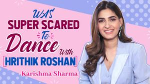 Was super SCARED to dance with Hrithik Roshan: Karishma Sharma