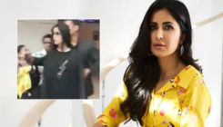 OMG! Katrina Kaif mobbed by unruly group of men at Delhi airport - watch video
