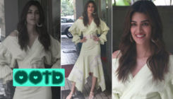 Kriti Sanon slays in a 'Flare and Fall' daffodils dress - view pics