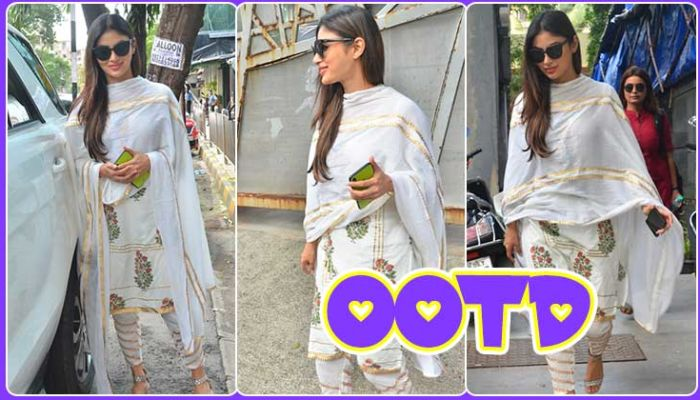 Mouni Roy shows us how to slay in a casual white churidar