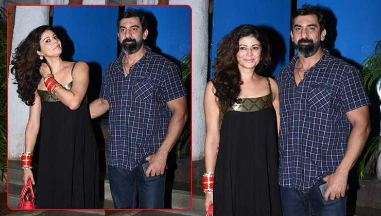 Newlyweds Pooja Batra and Nawab Shah snapped on a dinner date- view pics